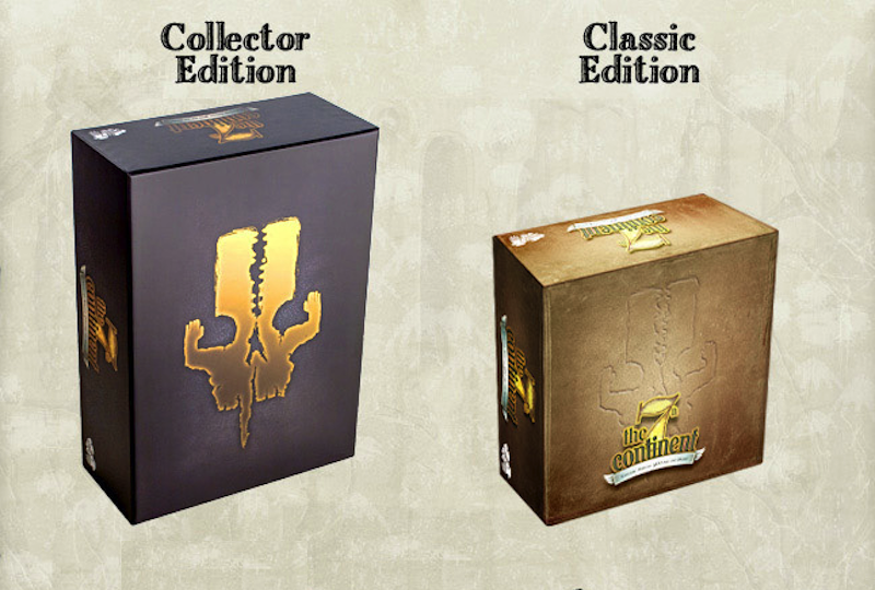 "Image 1 : The 7th Continent arrive en boutique en ""Classic Edition"""