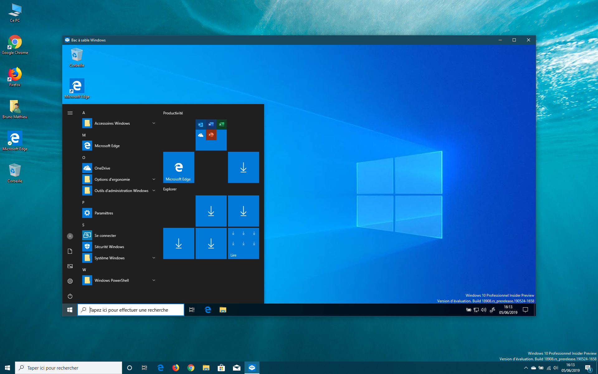 Image 4 : Windows 10 : venir à bout des galères d'installation de la Sandbox