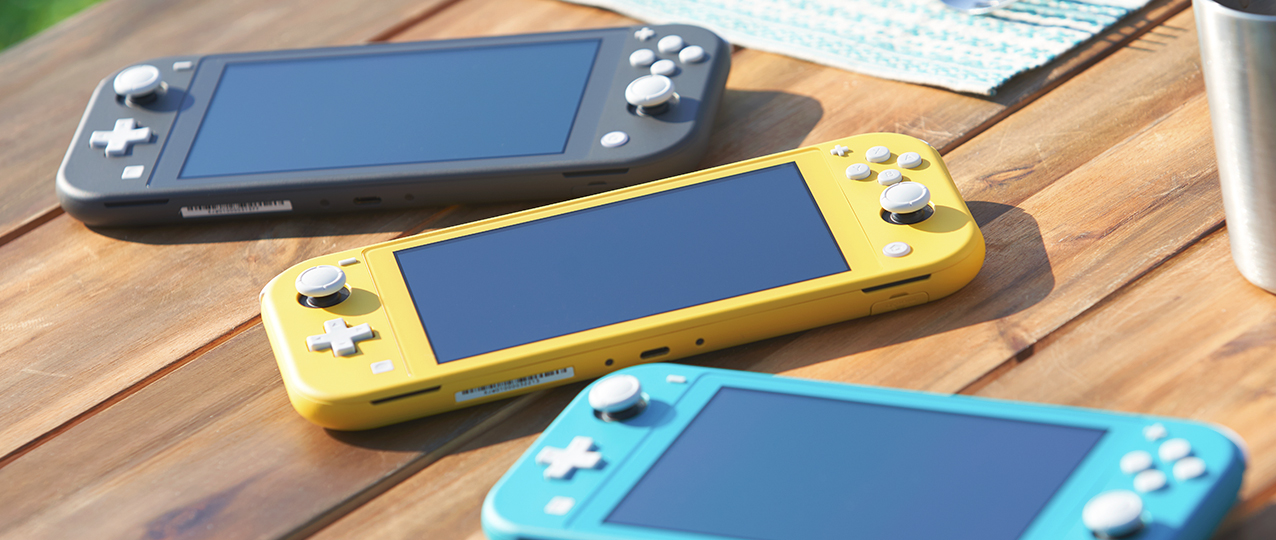 Image 1 : Switch Lite : Nintendo officialise sa console 100 % portable