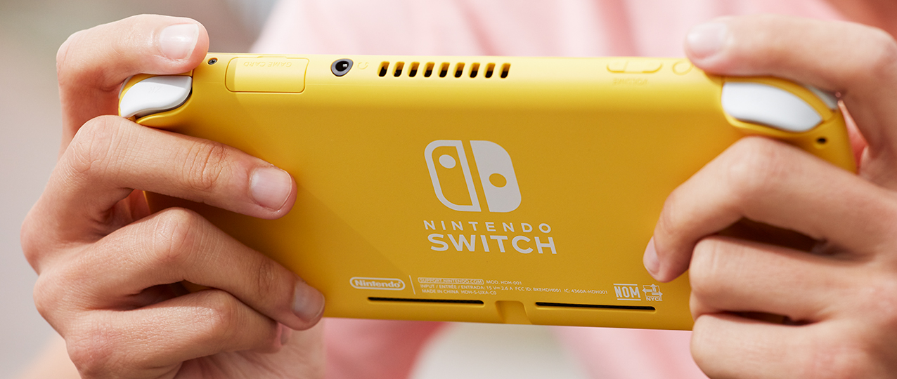 Image 2 : Switch Lite : Nintendo officialise sa console 100 % portable