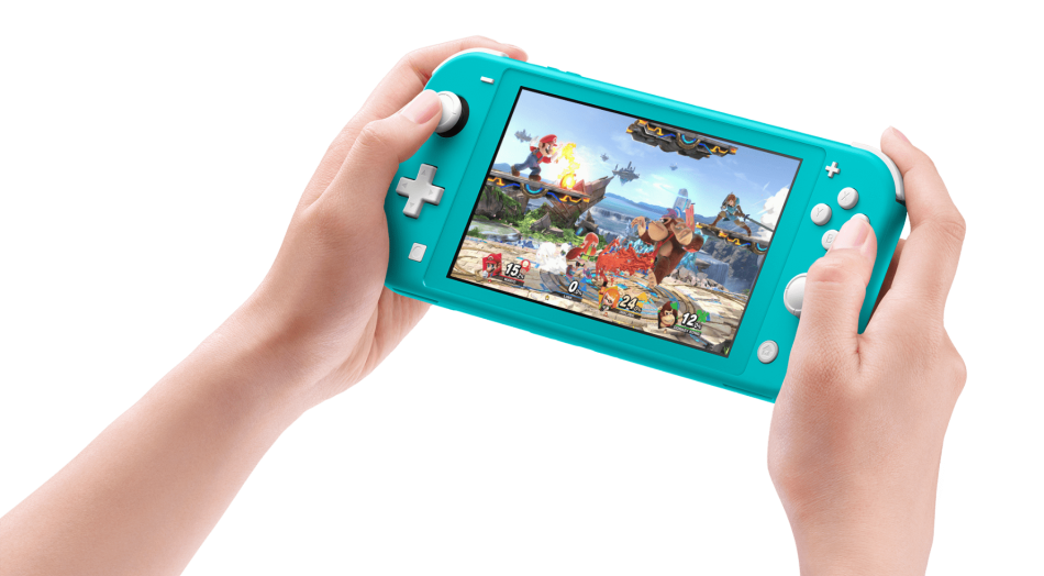 Image 4 : Switch Lite : Nintendo officialise sa console 100 % portable