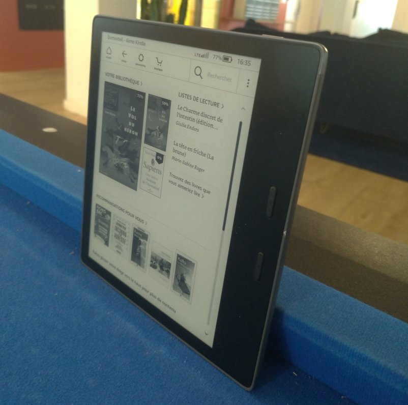 Image 4 : [Test] Amazon Kindle Oasis 2019 (10e génération)
