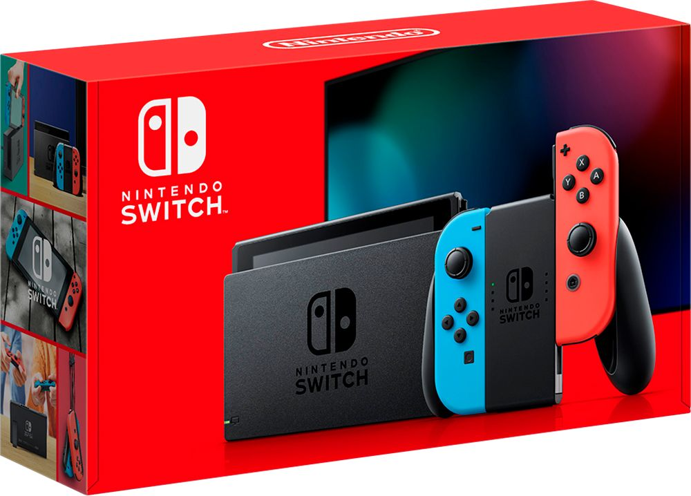 Emballage nouvelle switch