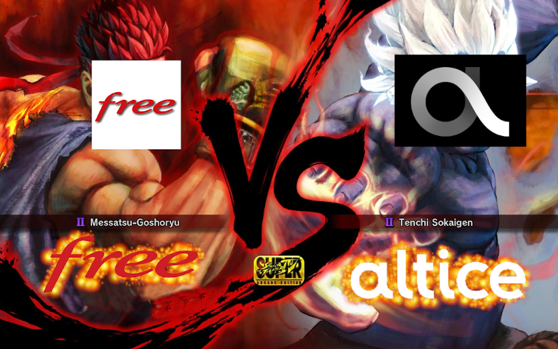 Free Contre Altice Street Fighter