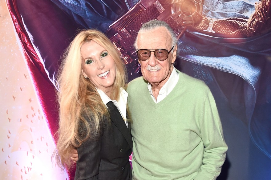 Joan Celia Lee et Stan Lee