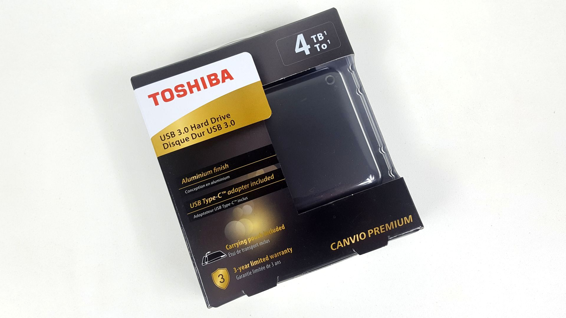 Image 3 : Test Toshiba Canvio Premium 4 To : un disque dur externe performant et design