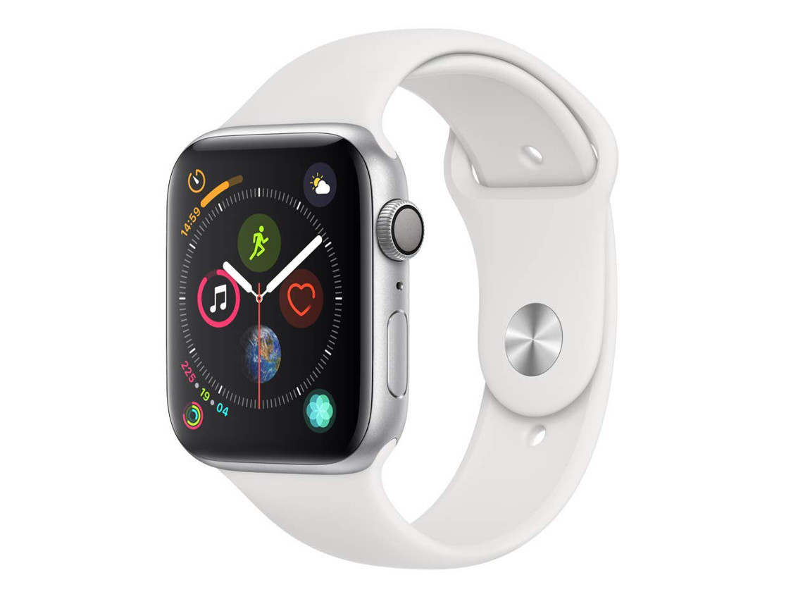 Image 1 : L'Apple Watch Series 4 (44 mm) blanche à 349 €