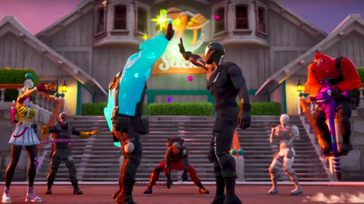 Fortnite Chapitre 2 high five