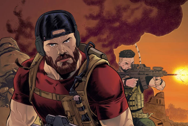 Image 1 : Tom Clancy's Ghost Recon passera du jeu au comic book en 2020