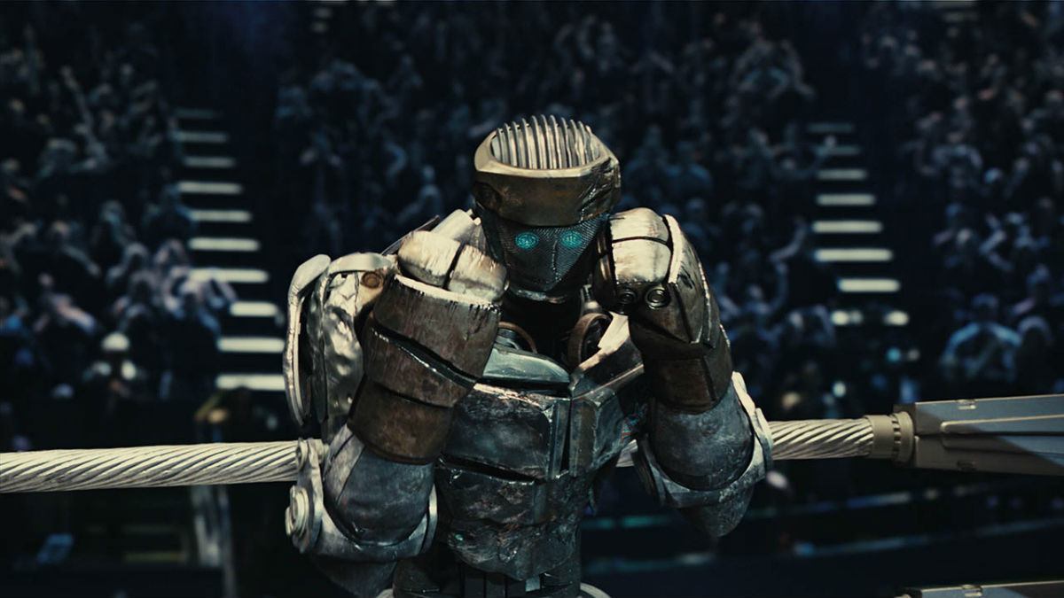 Real Steel robot cinema
