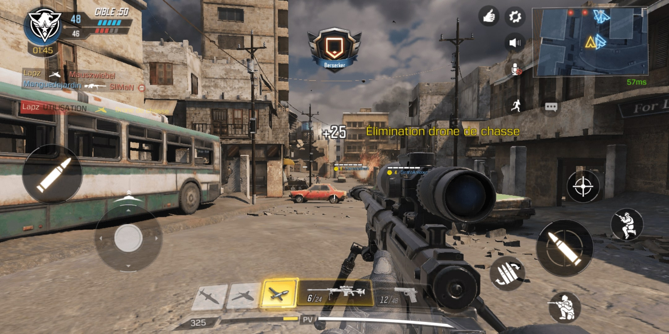 Image 2 : Call of Duty Mobile : 5 manettes tactiles Android pour améliorer son skill