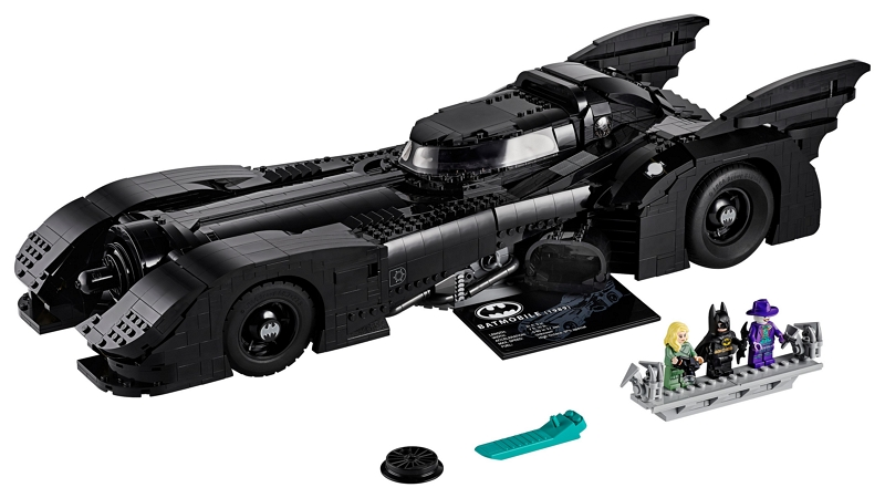Image 1 : Batman : une gigantesque Batmobile arrive chez LEGO (76139)