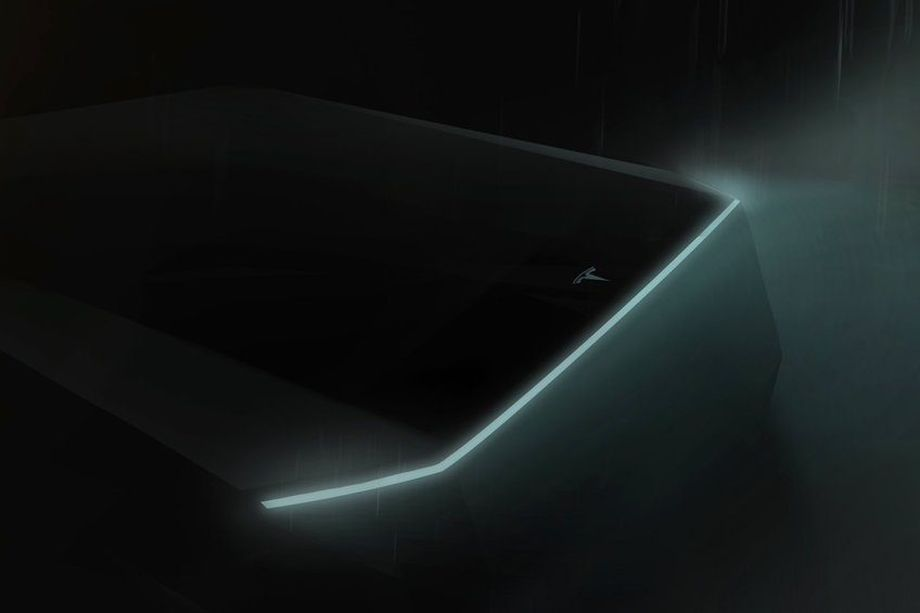 "tesla pickup cybertruck teaser - Tesla: The ""Cybertruck"" pickup will be presented on November 21st - Tom's Guide"
