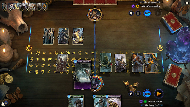 Image 1 : The Elder Scrolls : Legends. Bethesda stoppe le développement de son jeu de cartes concurrent d'Hearthstone