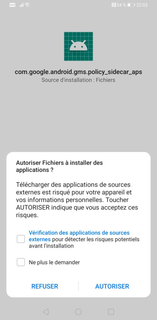 Image 18 : Huawei Mate 30 Pro : comment installer les apps Google et le Play Store ?