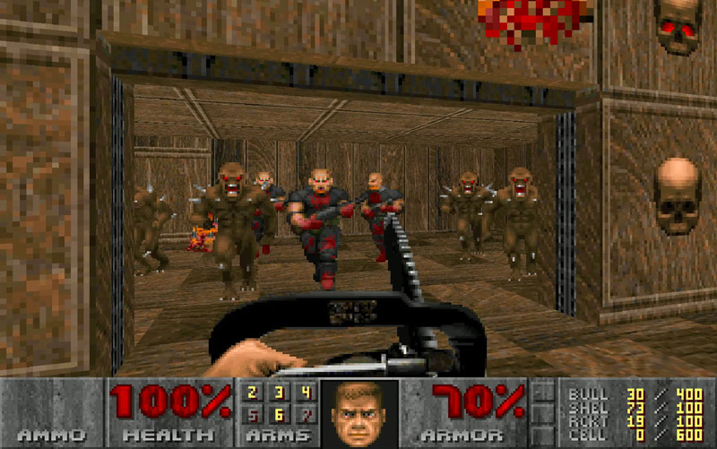 Image 1 : DOOM et Doom II : 60 fps, ratio, optimisation, voici le nouveau patch multiplateforme