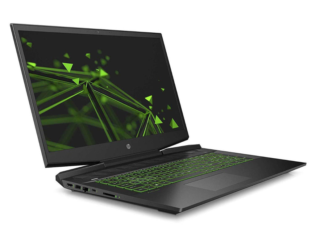 Image 1 : Le PC portable HP Pavilion Gaming 17-cd0015nf (17,3 pouces, GTX 1650) à 900 €