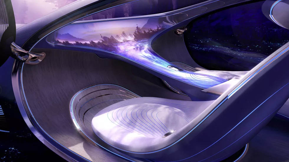 Digne de la science-fiction — Mercedes Vision AVTR