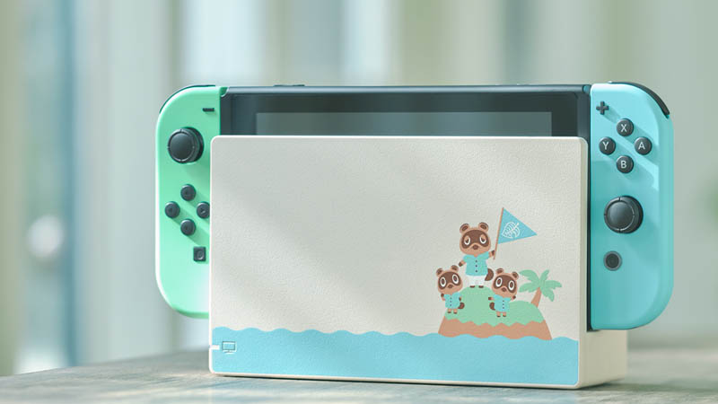 Image 1 : Nintendo sort une Switch collector aux couleurs d'Animal Crossing : New Horizons