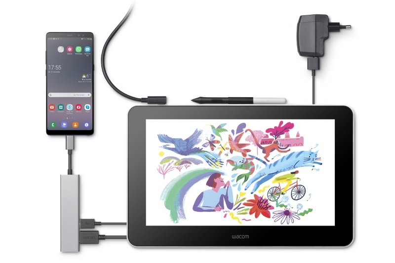 Image 1 : Wacom One : la tablette graphique à 400$ compatible Android