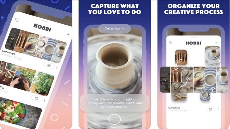 Image 1 : Hobbi : la nouvelle application de Facebook qui copie Pinterest