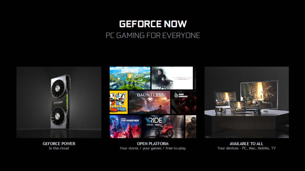 Image 5 : Avec GeForce Now, NVIDIA taquine Google Stadia sur le marché du Cloud Gaming