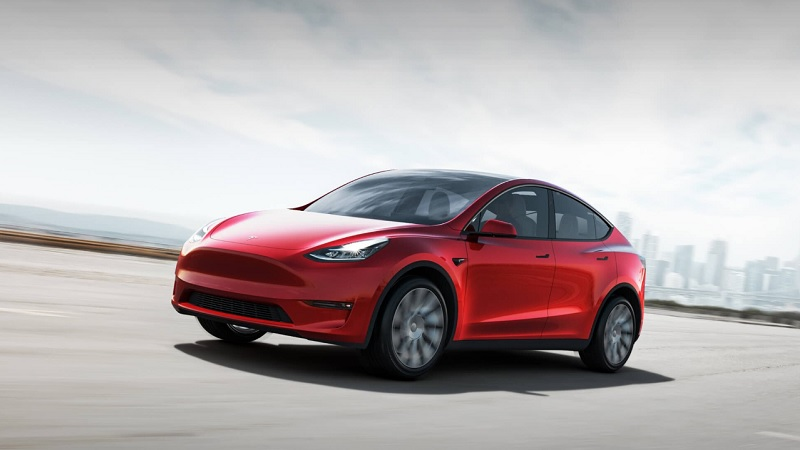 Image 1 : Tesla Model Y : son intérieur cache un compartiment secret
