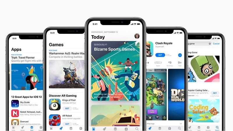 Image 1 : Apple : iOS 14 permettrait de tester les applications sans les installer
