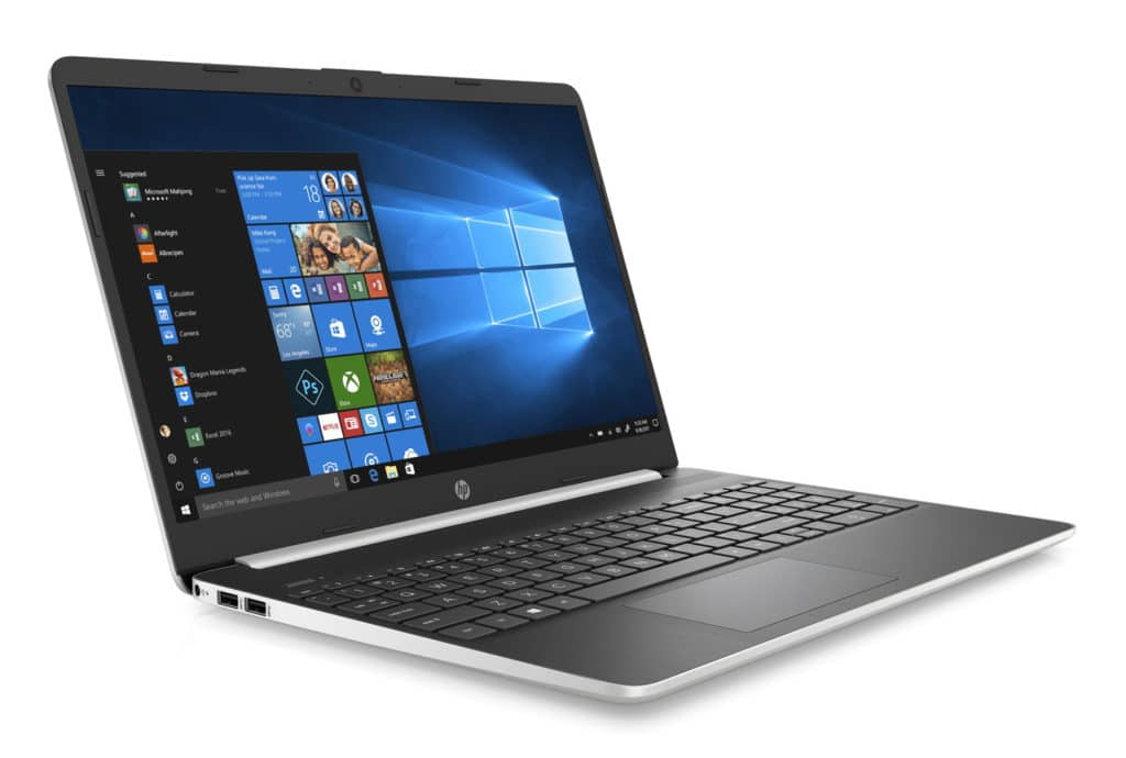 Image 1 : Le PC portable HP 15s-fq1007nf (15,6 pouces Full HD, Core i7) à 700 €