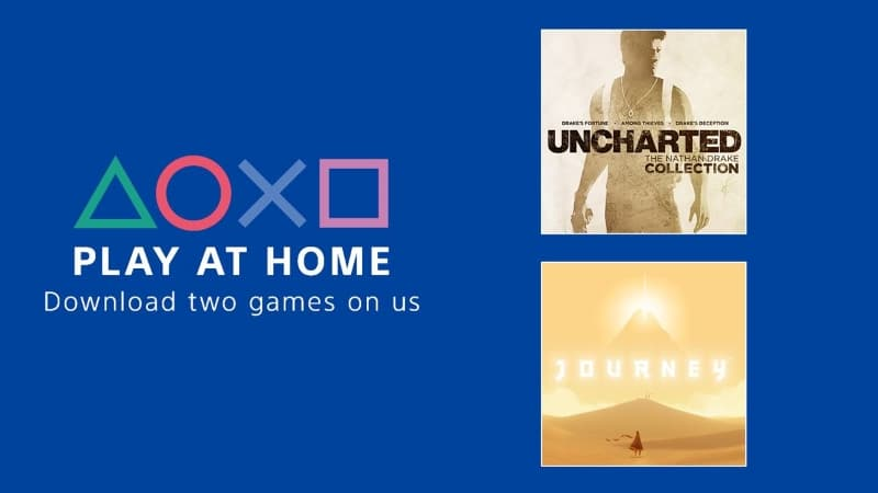 Image 1 : Sony offers free Uncharted : The Nathan Drake Collection and Journey on PS4