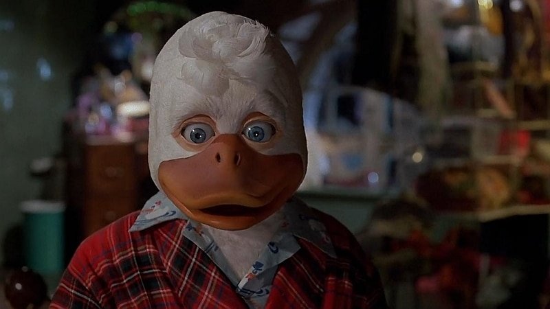 Image 1 : Comment l'échec d'Howard the Duck a conduit à la création de Pixar ?