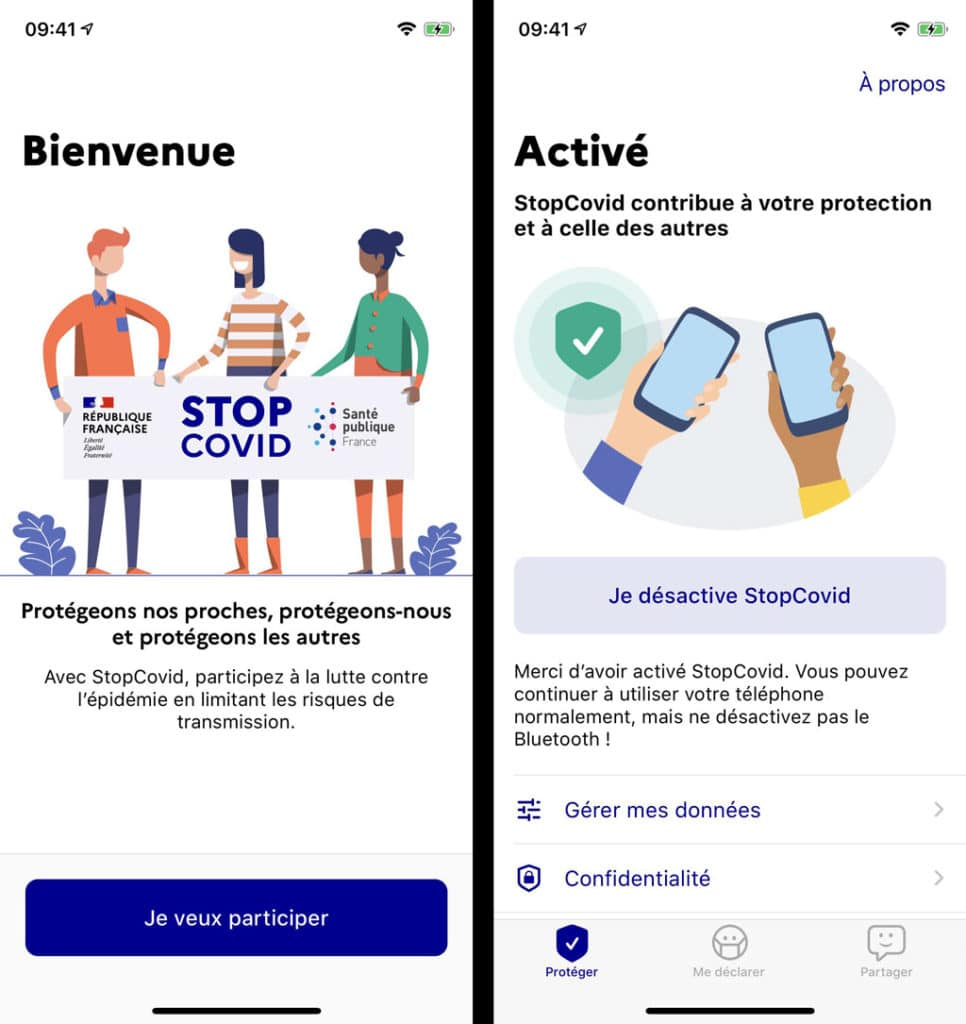 Image 2 : StopCovid : premières captures d'écran de l'application de contact tracing contre le Covid-19