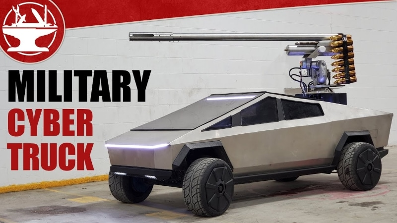 Le Military Cyber Truck