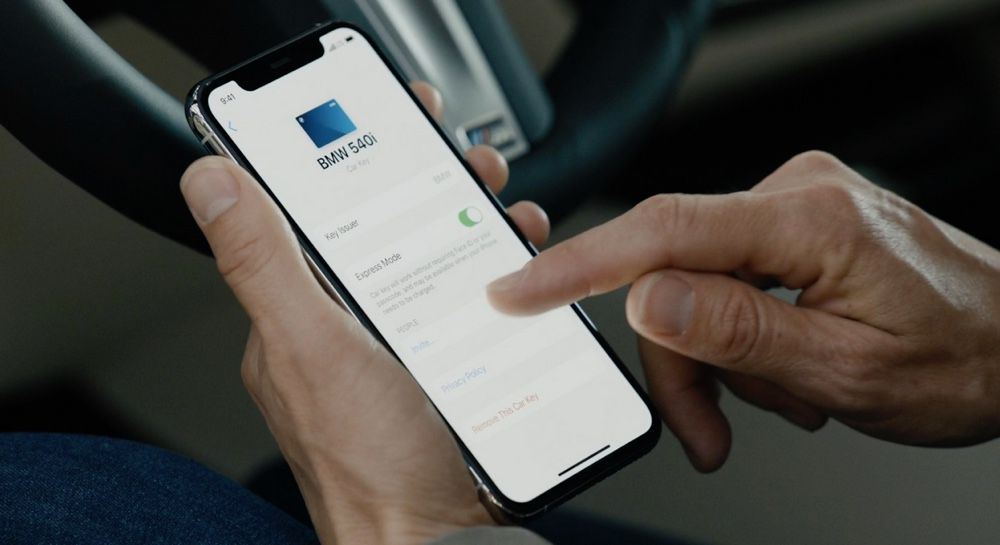 ios 14 apple car key