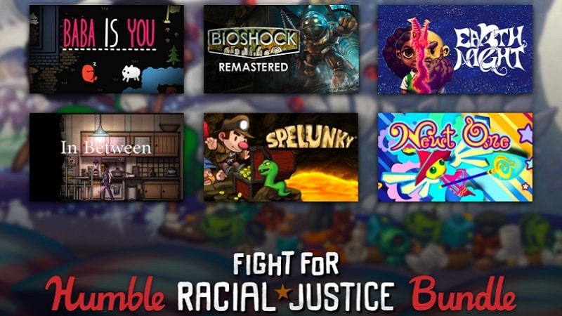 Humble Bundle Fight for Racial Justice