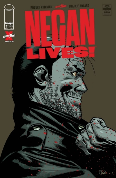 Image 2 : The Walking Dead : Robert Kirkman sort un nouveau comic sur Negan