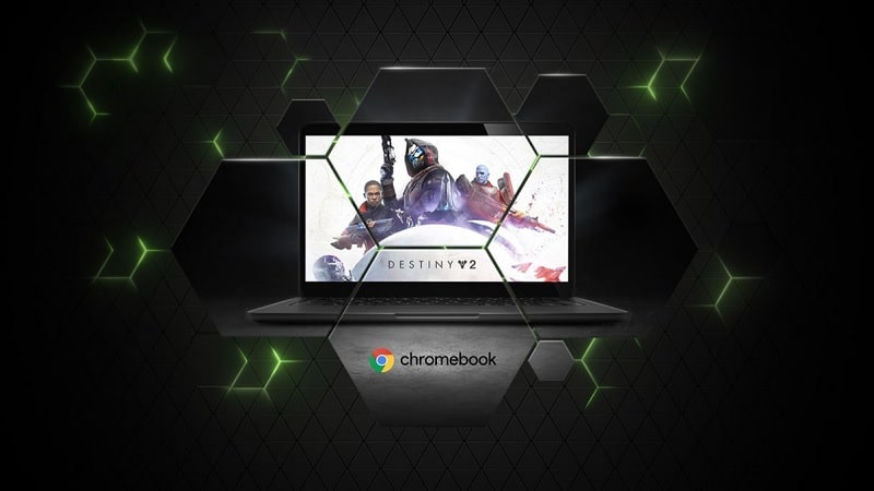 Image 1 : GeForce NOW : le service de cloud gaming de NVIDIA débarque sur les Chromebook