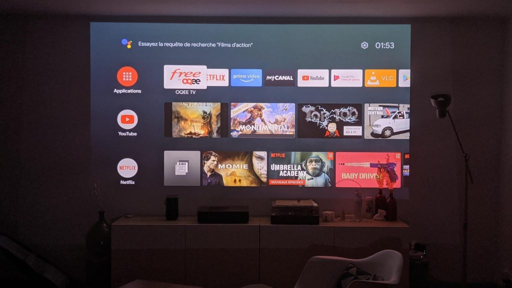Android TV Freebox Pop