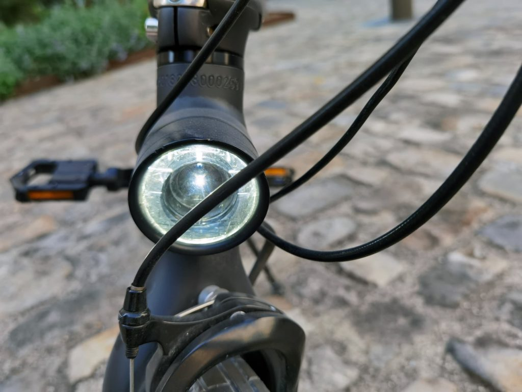 phare du vélo électrique pliant Xiaomi Mi Smart Electric Folding Bike