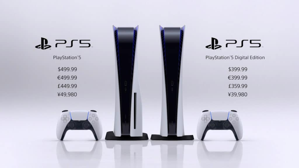 PS5 et PS5 Digital Edition