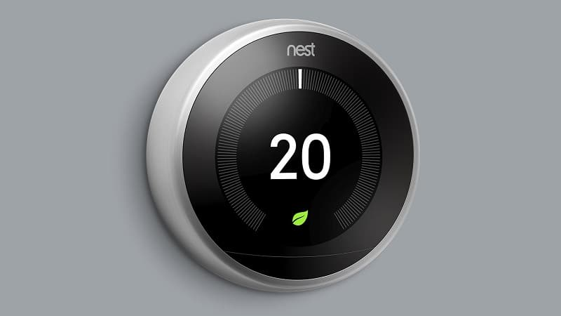 Nest Learning Thermostat.
