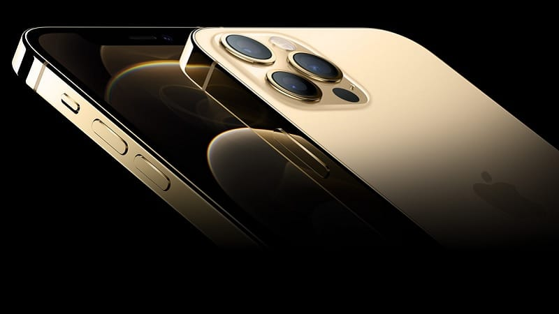 iPhone 12 Pro couleur Or – Apple