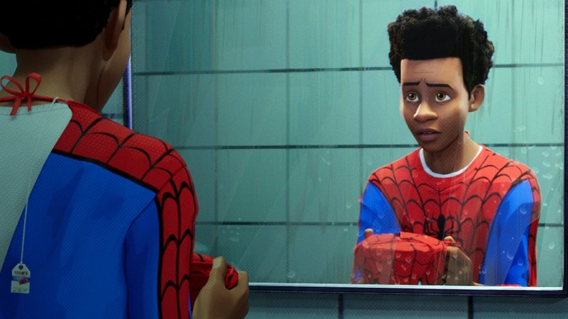 Miles Morales dans Spider-Man : New Generation