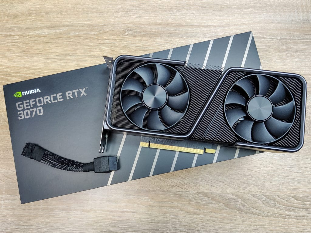 NVIDIA GeForce RTX 3070 Founders Edition (Galaxie Media)