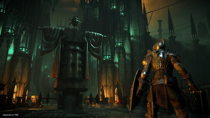 Capture d'écran de Demon's Souls sur la PS5