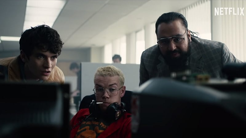 Extrait du film interactif Black Mirror : Bandersnatch