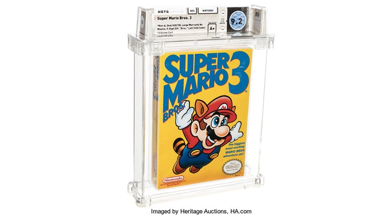 La copie de Super Mario Bros. 3 vendue à 156 000 $