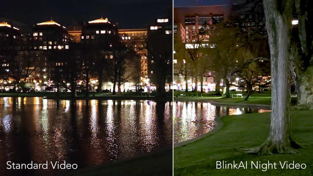 Xiaomi Mi 11 Night Video - BlinkAI Technologies / YouTube