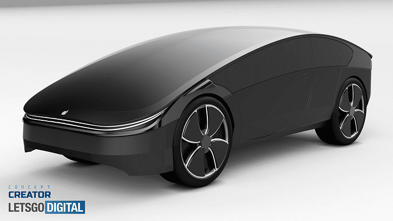 Apple Car concept - LetsGoDigital