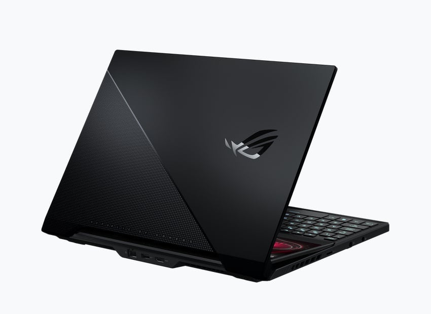 Image 2: Zephyrus Duo 15 SE: Asus' dual-screen gaming notebook moves to next-gen CPUs and GPUs
